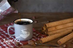 как заваривать кофе в гейзерной кофеварке, кофе в моке