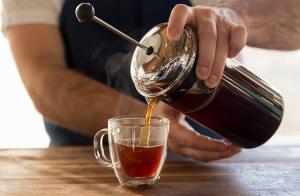 как готовить кофе в френч-прессе, как заварить кофе в френч-прессе