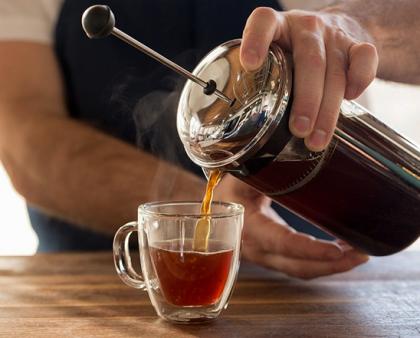 Завариваем кофе во френч-прессе