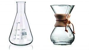 как готовить кофе в кемексе, как заварить кофе в кемексе