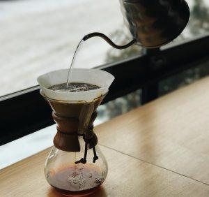 как приготовить кофе в кемексе, кемекс, как готовить кофе