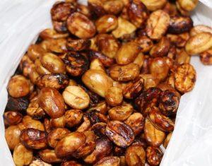 кофе полумытой обработки, хани обработка, медовая обработка, зерна кофе